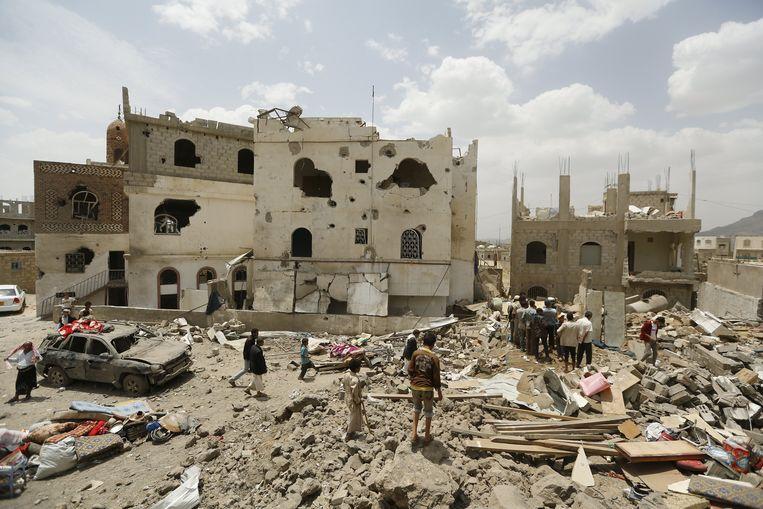 De bombardementen in Jemen hebben de situatie nog verergerd.