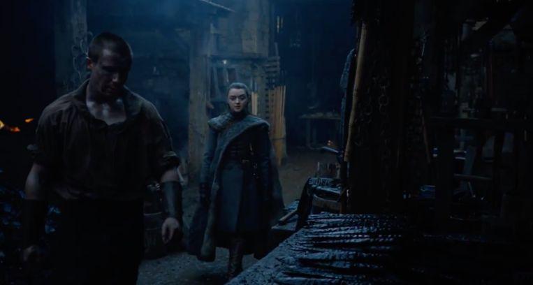 Arya bezoekt een oude vriend.
