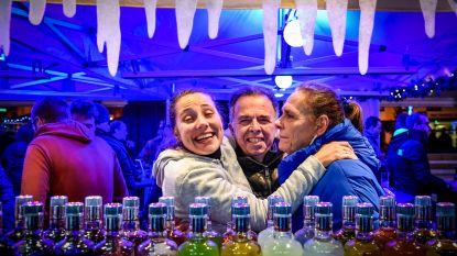 IJspiste, optredens en kraampjes tijdens Lebbeke Wintert