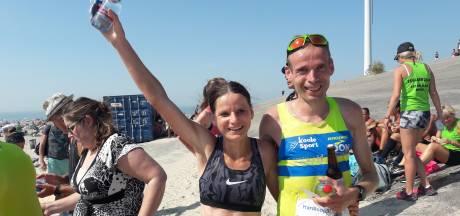 Harmes en Sanderse pijnigen zich: 'De winst in de Kustmarathon krijg je niet cadeau'
