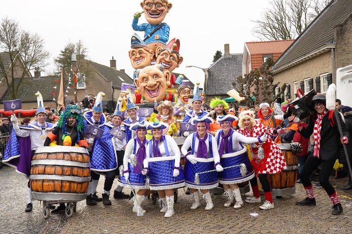 Archieffoto carnaval in Raamsdonk in 2020.
