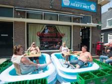 Terrasbadjes bieden uitkomst voor cafégangers