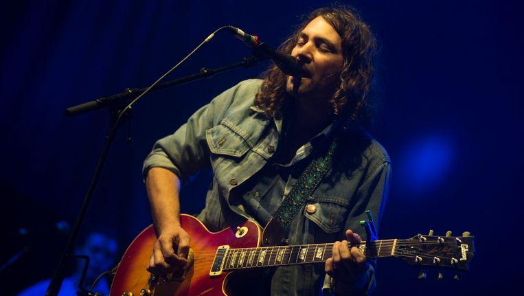 Zanger Adam Granduciel van The War On Drugs, deze zomer op Pukkelpop.
