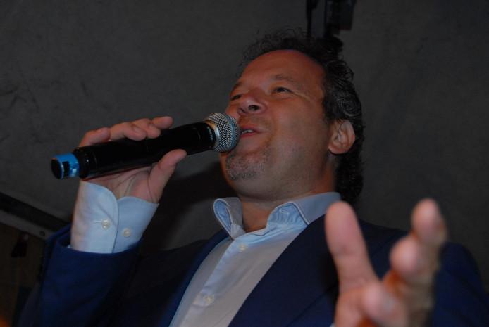 Marcel Hufnagel, de winnaar van de jongste editie van Typisch Talent, in actie.
