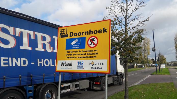 Foodpark grenst aan bedrijventerrein Doornhoek in Veghel.
