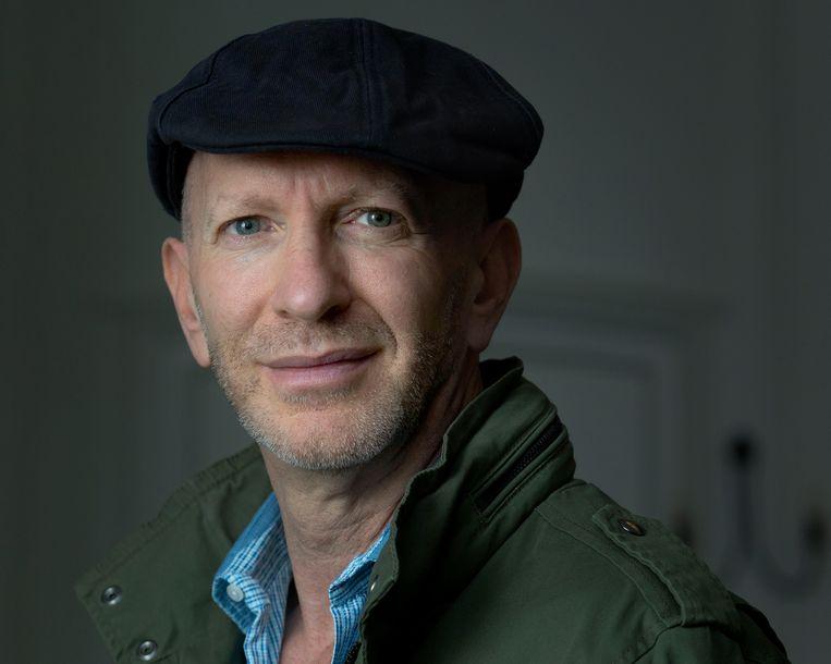 Nederland, Amsterdam, 04-10-2019 Simon Sebag Montefiore, auteur, schrijver Foto : Maartje Geels Beeld Maartje Geels
