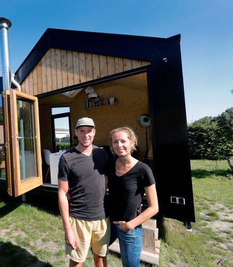 'De eenvoud van een tiny house is mooi. We gaan terug naar de basis'