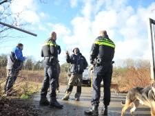 Krakers alweer weg van terrein aan de Bosweg in Renkum