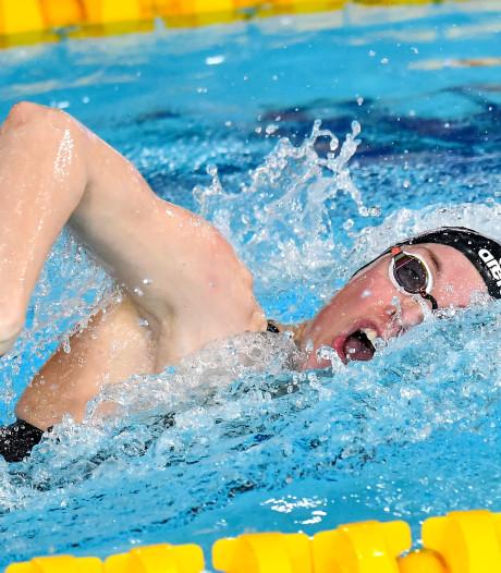 Heemskerk en Van Vliet grijpen naast medailles op 50 meter vrij