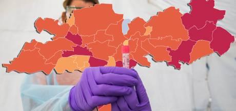 CORONAKAART | West Maas en Waal is landelijk zorgenkindje, elders in de regio gaat het beter