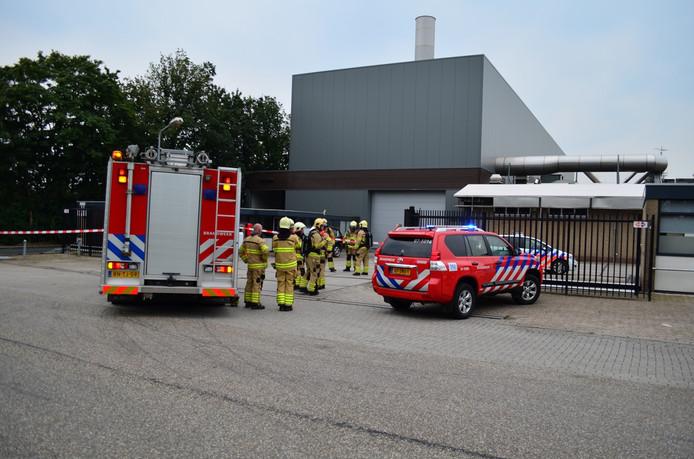 De brandweer heeft het pand tijdelijk ontruimd.