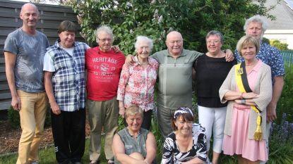 Philemon en Germaine 65 jaar gehuwd