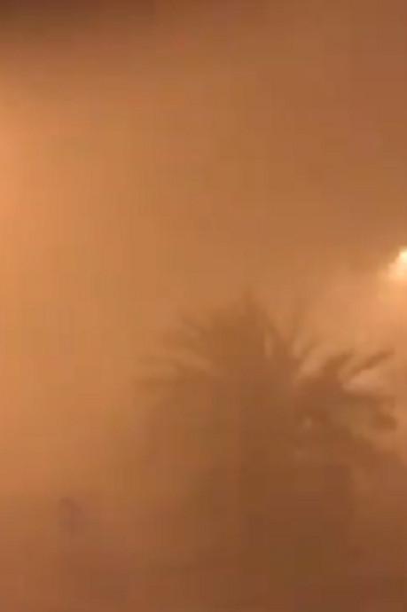Toulouse balayée par une terrible tempête