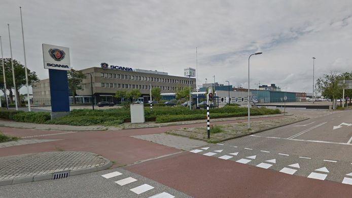 Scania-vestiging aan de Russenweg in Zwolle.