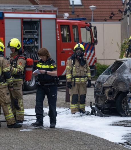 Bijna 100 auto's vorig jaar in Zeeland in vlammen op