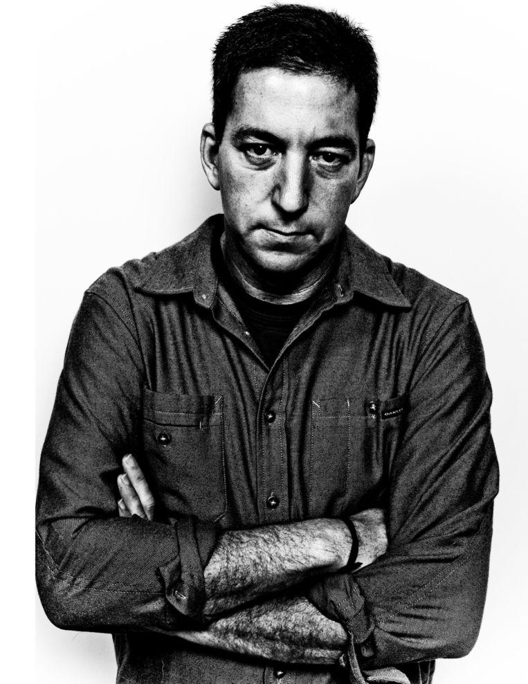 Journalist Glenn Greenwald. Beeld Gabriel Rinaldi/Redux