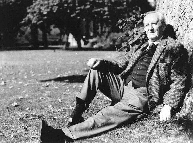 Een portret van John Ronald Reuel Tolkien. Beeld ANP