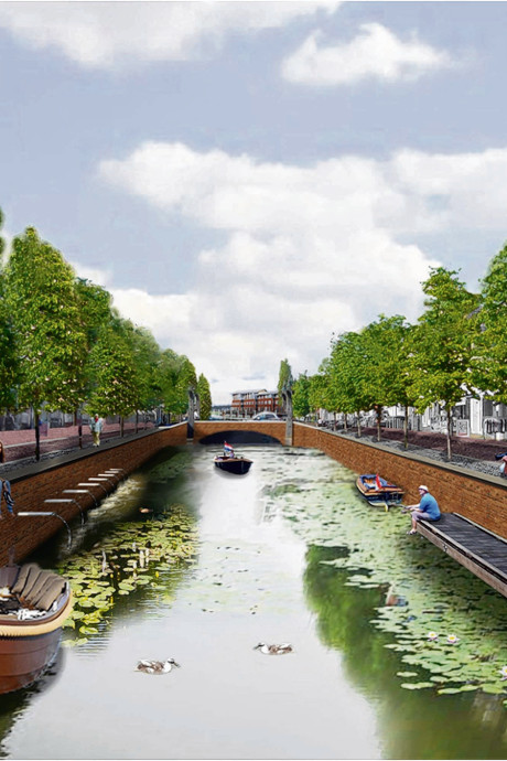 Wie maakt de mooiste tekening van de haven in Zevenbergen?