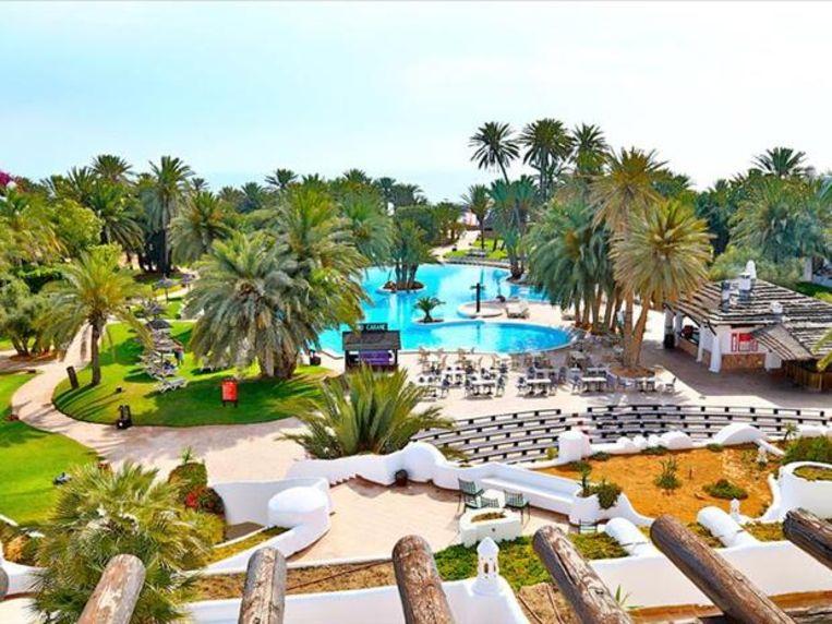 Hotel Odyssee Resort & Thalasso, waar ze verblijven.