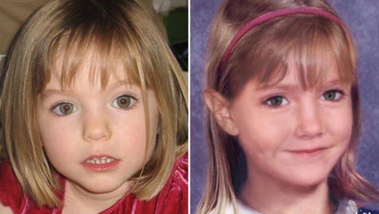 Maddie McCann verdween bijna tien jaar geleden in Portugal als 3-jarige peuter. De foto ernaast toont haar hoe ze er als 6-jarige uit zou zien. Inmiddels zou ze een tiener zijn.