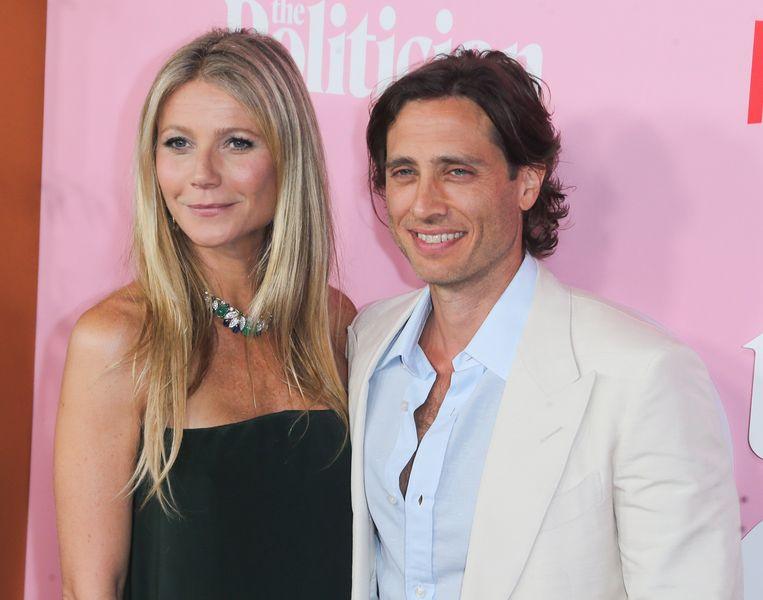 Gwyneth en haar man Brad Falchuk.