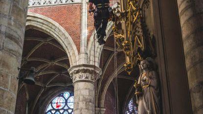 Klimmen en klauteren in Sint-Michielskerk