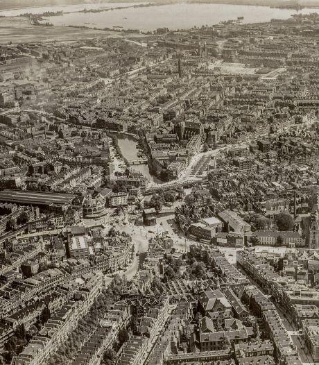 Zo zag Nederland er een eeuw geleden vanaf boven uit