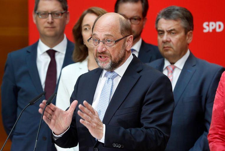 Martin Schulz van SPD Beeld epa