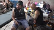 Deze durvers laten een Tomorrowland-tattoo zetten