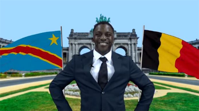 L'humoriste belgo-congolais a déjà engrangé 200.000 vues avec sa dernière vidéo