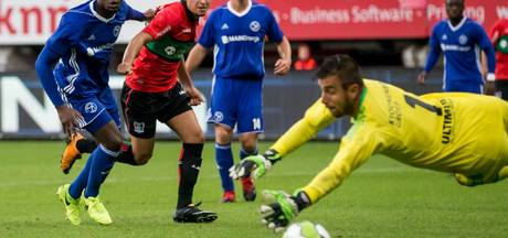 Larsson maakt derde treffer NEC tegen Almere City: 3-1