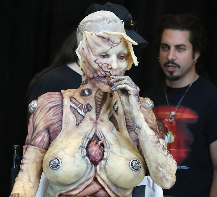 Heidi Klum's Halloween outfit in 2019.