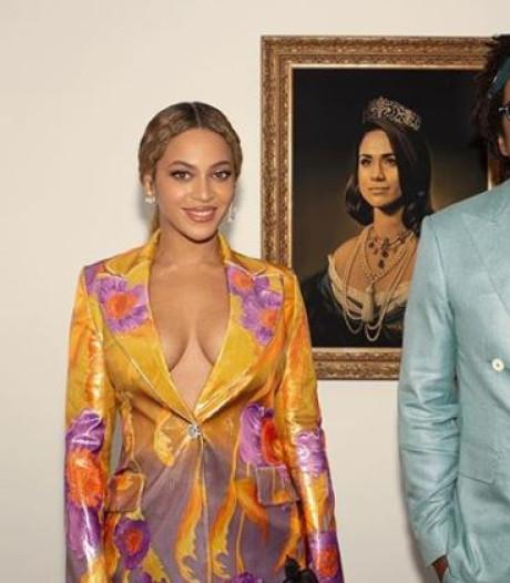 Kunstenaar Meghan Markle-portret: Eer dat Beyoncé en Jay-Z het gebruiken