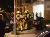 Bewoner naar ziekenhuis om brand in complex Sara Burgerhartweg
