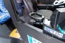 Een kuchscherm moet de buschauffeur van Arriva beschermen tegen besmetting met het coronavirus.