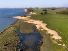 Nieuwe rivierduinen in de Noordwaard zijn ontstaan door 'rivierdynamiek volgens het boekje'