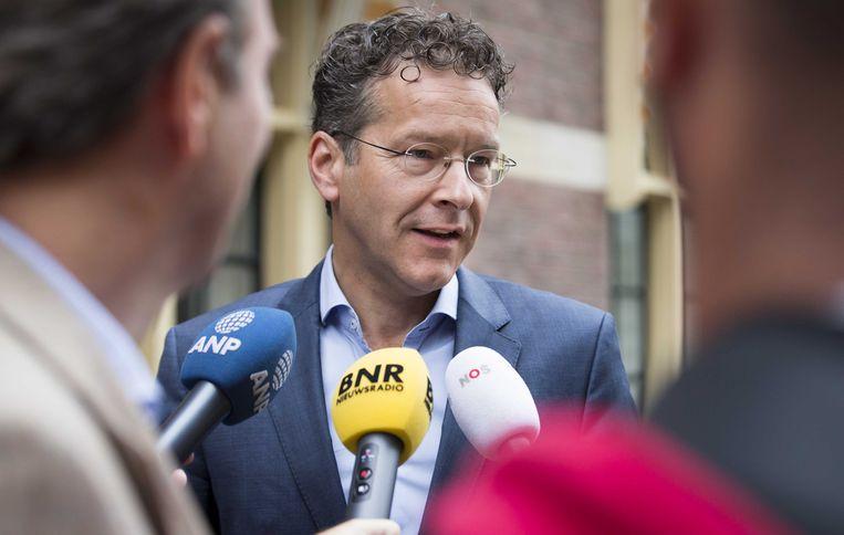 Nederlands minister van Financiën en voorzitter van de Eurogroep Jeroen Dijsselbloem.