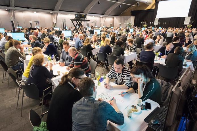 Honderden Brabanders praatten dinsdag mee over de toekomst van het voedselsysteem in de provincie.