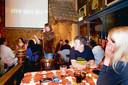 Pubquiz in De Docter in 2007, met quizmaster Bert Vonhof.