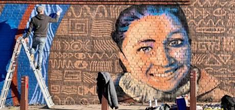 Une fresque en hommage à Nadège, fauchée alors qu'elle attendait le bus