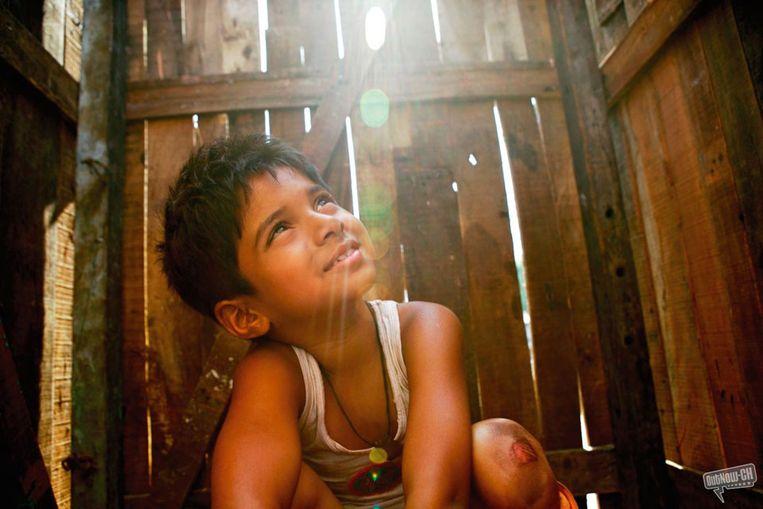 Scÿne uit de film Slumdog Millionaire, de winnaar van de Oscar in 2009 (Outnow.ch) Beeld