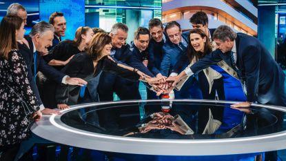 Nieuwe VTM NIEUWS-studio officieel geopend in Antwerpen