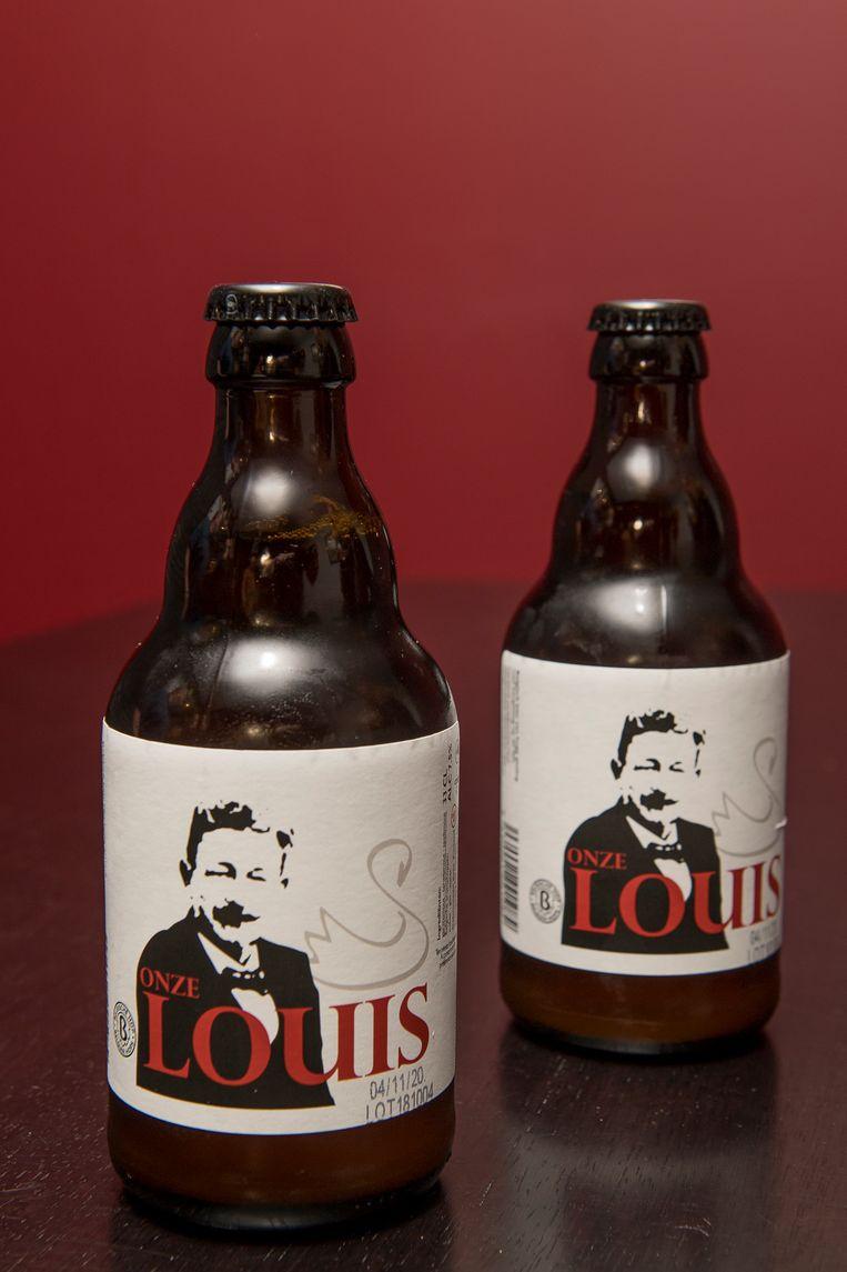 'Onze Louis' is een spelttripel met een alcoholpercentage van 7,5% en nagisting op de fles.