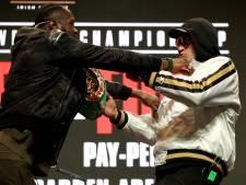 Face-off Fury en Wilder geschrapt om nieuwe incidenten te voorkomen