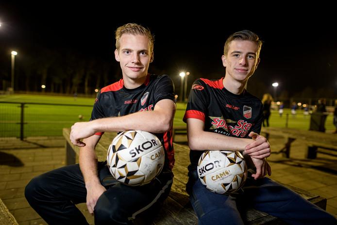 De jonkies Robin Jager (links) en Ryan Jack.