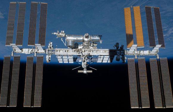 Het Internationaal Ruimtestation ISS.