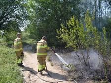 Zwemmers ontdekken brand in Gendtse polder