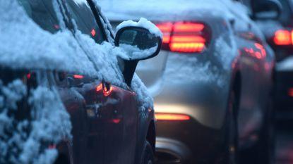 Ondanks de sneeuw maar weinig ongevallen tijdens ochtendspits