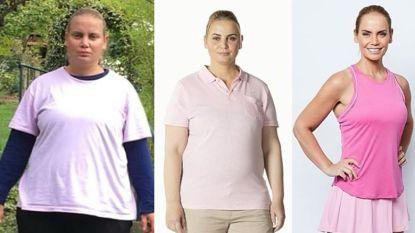 Anderhalf jaar terug woog ze nog 120 kilogram, nu staat Jelena Dokic terug tussen de Legends op de Australian Open