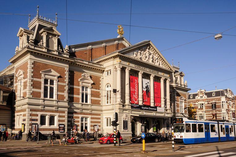Het Concertgebouw in Amsterdam Beeld Cyrille Gibot